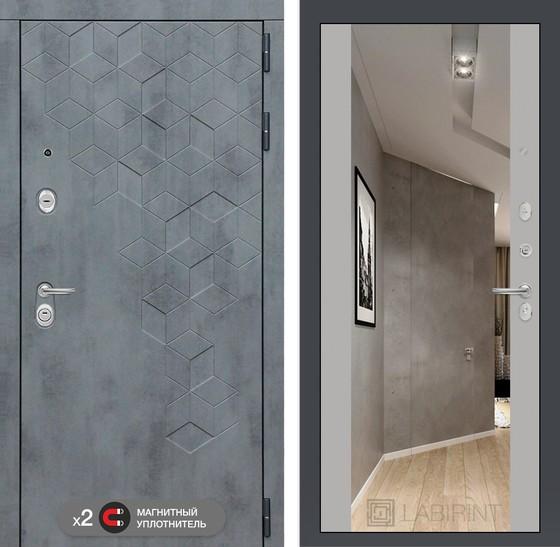 Дверь лабиринт бетон купить керамзитобетон для пола плотность